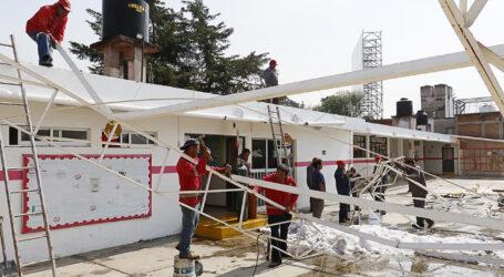 En Toluca atienden 47 servicios por las fuertes lluvias