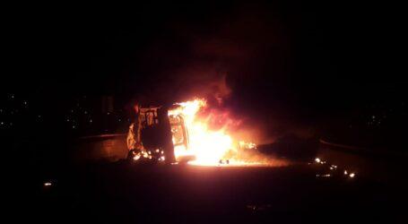 Explosión y fuego cimbró al norte de Toluca