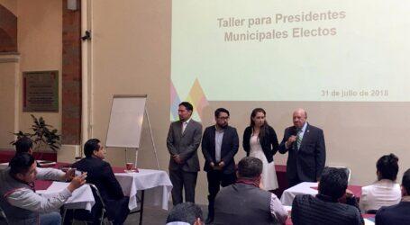 Capacita IAPEM a autoridades municipales electas