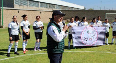 Torneo de futbol de la CODHEM fomenta identidad y empoderamiento de la mujer