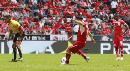 Contundente 3-0 de Toluca a Xolos