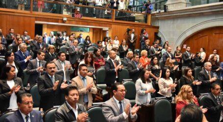 EGRARON POR UNANIMIDAD COMISIONES Y COMITÉS DE LA LEGISLATURA MEXIQUENSE
