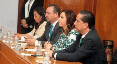 ASISTE JORGE OLVERA A LA INSTALACIÓN DE LA COMISIÓN LEGISLATIVA DE DDHH