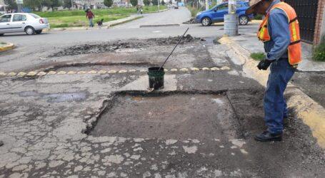 Permanentes en Toluca los trabajos de rehabilitación de vialidades