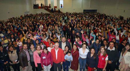 YA HAY FAMILIAS FUERTES EN LA REGIÓN DE LOS VOLCANES