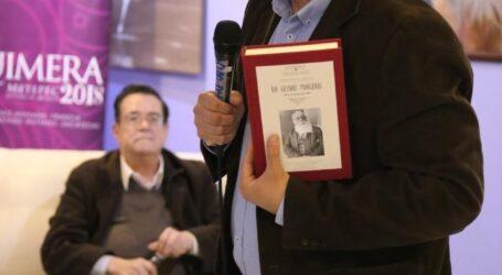 PRESENTAN LIBRO DE ANDRES MOLINA EN QUIMERA