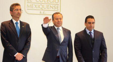 CÉSAR CAMACHO QUIROZ NUEVO PRESIDENTE DE EL COLEGIO MEXIQUENSE