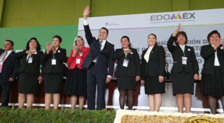 Rindió Abraham Saroné su 3er. Informe de Trabajo en el SMSEM; deja estafeta a José Manuel Uribe