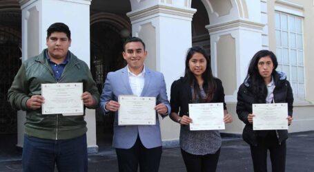 Estudiantes de UAEM Atlacomulco 3er. lugar en Conocimientos de la ANFECA