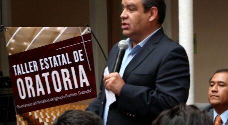 Taller estatal de Oratoria en memoria de Ignacio Ramírez