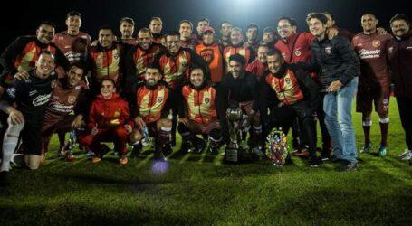Escarlatas vence 1-0 a Leyendas Guadalajara