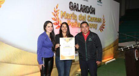 ENTREGA METEPEC GALARDÓN  A DEPORTISTAS Y PROMOTORES