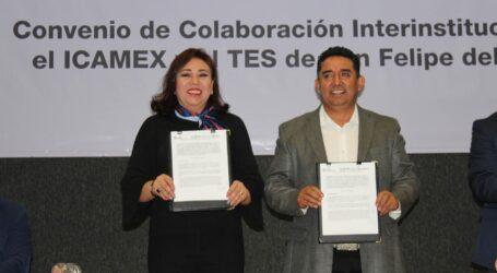 El TESSFP en el Foro de Vanguardia de Educación y convenio con ICAMEX