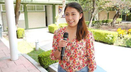 Alumna UAEM fue distinguida con Premio de la Juventud de Metepec