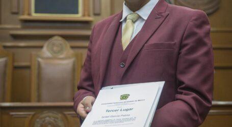 Premió UAEM a ganadores de Oratoria Estudiantil 2018