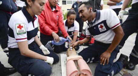 Capacitación es base de la Cruz Roja