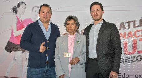 """Toluca conmemora """"Día Internacional de la Mujer"""" con carrera atlética"""