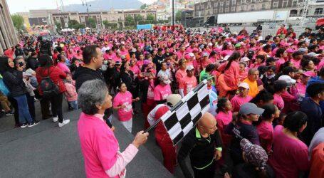 """500 deportistas en carrera atlética """"Día Internacional de la Mujer"""""""