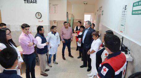 Auditan Cruz Roja de Nezahualcóyotl La Perla