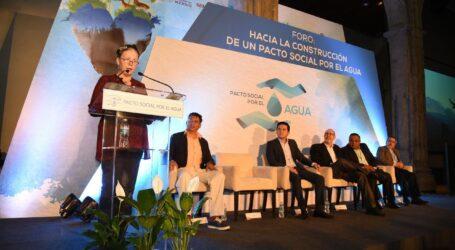 FORTALECEN EL PACTO SOCIAL POR EL AGUA