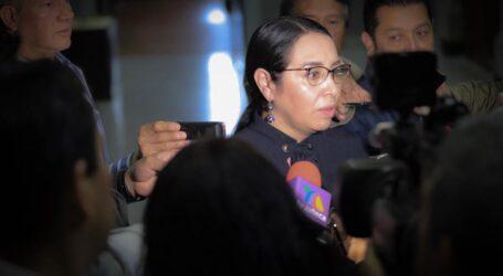 """""""No descarto mano negra en salida de Cerón"""": Azucena Cisneros"""