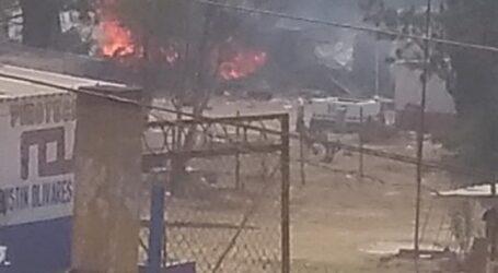 Un muerto y 4 lesionados en  4 explosiones en Tultepec