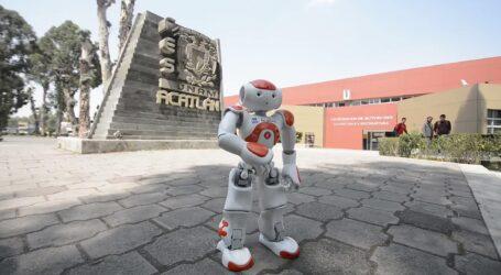 FIBONACHO, EL HUMANOIDE DE LA UNAM