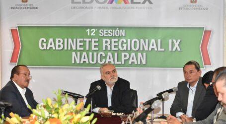 TRABAJA GABINETE DE LA REGIÓN IX EN BENEFICIO DE LOS HABITANTES DE 5 MUNICIPIOS