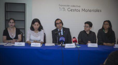 "PRESENTARÁ UAEM""3/3: GESTOS MATERIALES"""