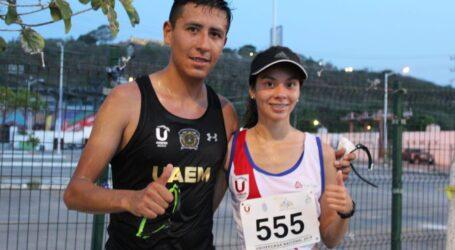 Jesús Tadeo Vega la primera medalla de oro para UAEM en marcha de 20 kilómetros.