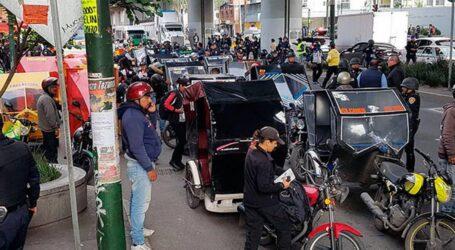 MOTOTAXIS GENERAN GRAVES  PROBLEMAS DE INSEGURIDAD