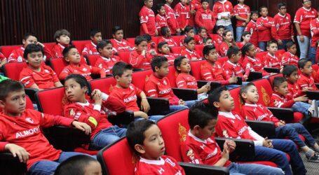 ALMOLOYA SE UNE A LA RED DE ESCUELAS DIABLOS ROJOS