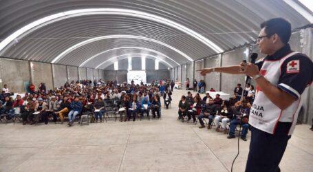 CRUZ ROJA CAPACITA A 240 OTOMÍS YÜHÜ SOBRE PRIMEROS AUXILIOS