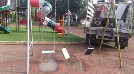 Rehabilitar juegos infantiles, es recuperar espacios públicos