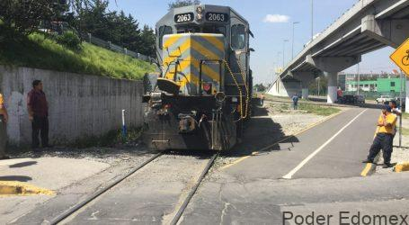 Urge diagnosticar situación actual de la vía férrea en Toluca: Arturo Chavarría