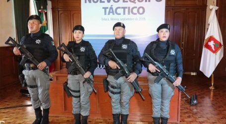 Casi 4 MDP a la policía; ojalá Se acabe la inseguridad