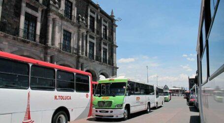 Protesta de tarnsportistas Contra vagonetas Urvan