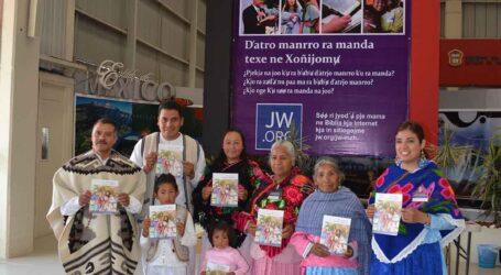 """Testigos de Jehová efectuarán asamblea """"El amor nunca falla"""" en mazahua y otomí en Ixtlahuaca"""