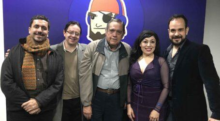 +Con los protagonistas de la Opera Carmen; los de Tenería ofendidos