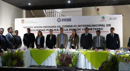 ENCABEZA GABY GAMBOA SESIÓN DEL CONSEJO INTERMUNICIPAL DE SEGURIDAD PÚBLICA