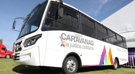 LANZAN PROGRAMA CARAVANAS POR LA JUSTICIA COTIDIANA