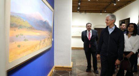INAUGURA ADM CORREDOR DE LA PLÁSTICA MEXIQUENSE Y EL MUSEO CASA TOLUCA 1920
