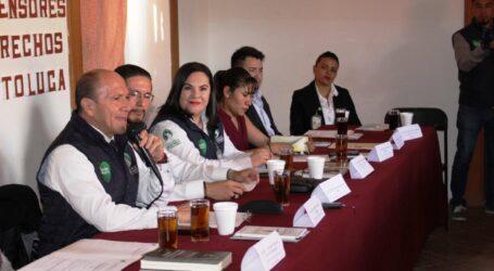 FORTALECE CODHEM PREPARACIÓN DE PERSONAS DEFENSORAS MUNICIPALES