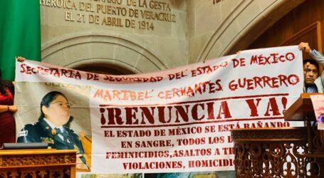 Diputados de Morena piden la renuncia de Maribel Cervantes