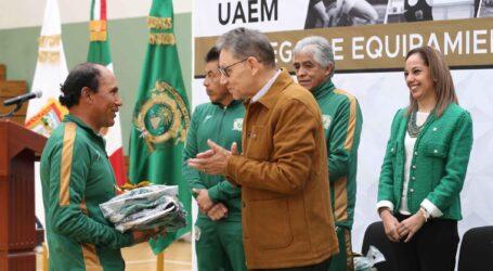 UAEM regularizará la situación laboral de sus promotores deportivos