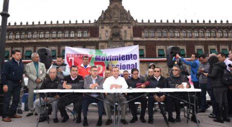 Manifestación nacional de taxistas el 7 de Octubre; acusan represión silenciosa