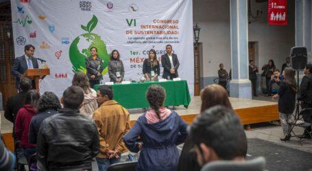 Expertos de ocho países discuten sobre sustentabilidad en la UAEM