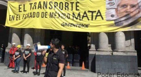 +Protesta Greenpeace el tarifazo sin pintarrajeo; Laura Barrera y su sensibilidad ante feminicidios