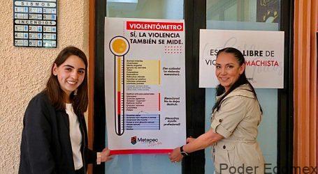 PUBLICA GABY GAMBOA VIOLENTÓMETRO, ACCIÓN QUE ABONA A DISMINUIR LA VIOLENCIA DE GÉNERO