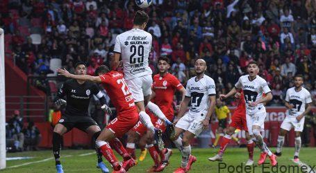 Así perdió Toluca ante Pumas – Galería